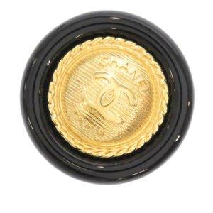 Chanel CC Metal Brooch