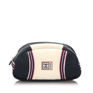 Chanel CC Nylon Sports Line Pouch