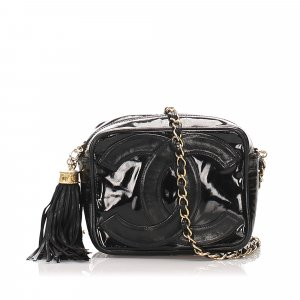 Chanel CC Patent Leather Camera Bag