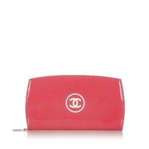 Chanel Sac seau rosé faux cuir