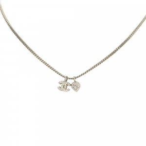 Chanel Collana argento Metallo