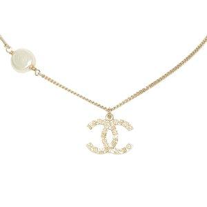 Chanel Naszyjnik złoto Metal