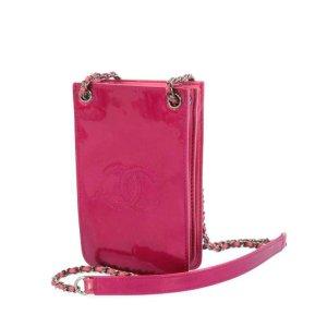Chanel Crossbody bag pink imitation leather