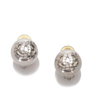 Chanel Orecchino argento Metallo