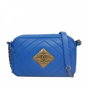 Chanel CC Pyramid Lambskin Leather Camera Bag