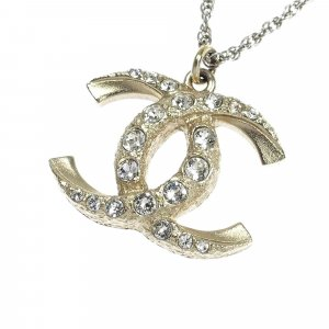 Chanel CC Rhinestone Necklace