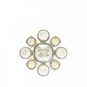 Chanel Ring silver-colored metal