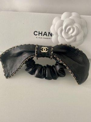 Chanel Wstążka do włosów czarny-złoto