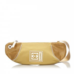 Chanel Bumbag gold-colored nylon