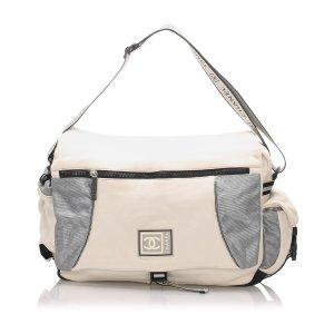 Chanel CC Sports Line Nylon Shoulder Bag