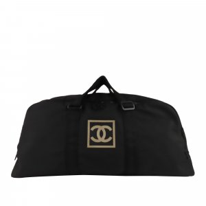 Chanel Torba podróżna czarny Nylon