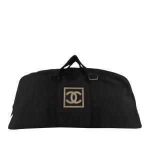 Chanel Reistas zwart Nylon