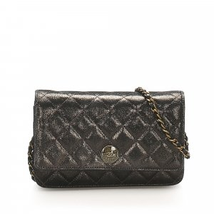 Chanel CC Timeless Canvas Wallet On Chain