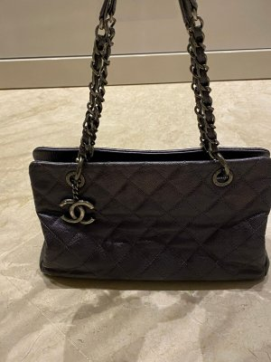 Chanel CC Timeless Caviar Leather Tote Bag