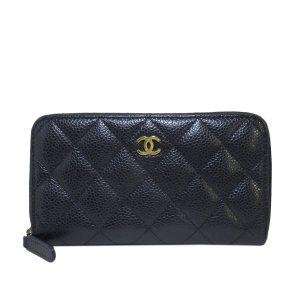 Chanel Torebka mini niebieski Skóra