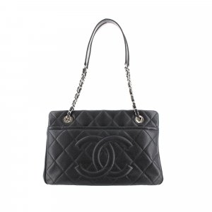 Chanel CC Timeless Caviar Tote Bag