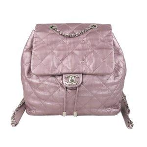 Chanel Zaino rosa pallido Pelle