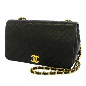 Chanel CC Timeless Lambskin Leather Flap Bag