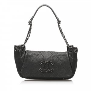 Chanel CC Timeless Leather Flap Bag