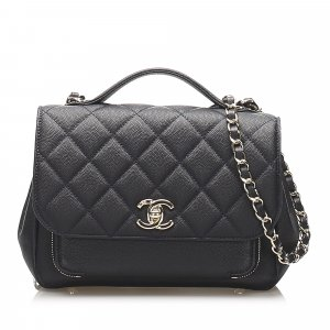 Chanel CC Timeless Leather Satchel