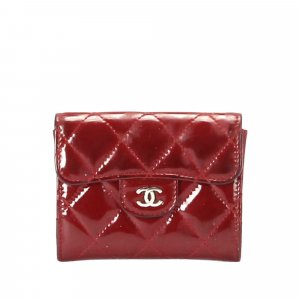Chanel CC Timeless Patent Leather Wallet