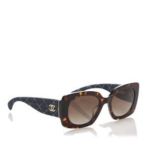 Chanel Okulary przeciwsłoneczne brązowy