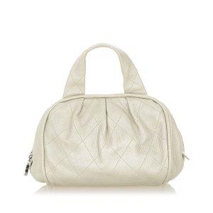 Chanel Sac à main blanc cuir