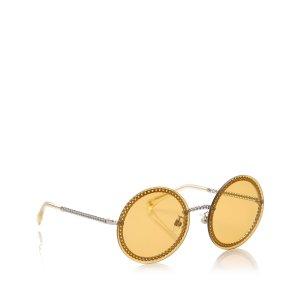 Chanel Zonnebril geel