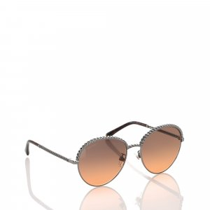 Chanel Sunglasses brown metal