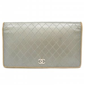Chanel Chanel Coco Mark Long Wallet Purse