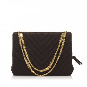 Chanel Chevron Shoulder Bag