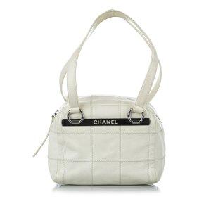 Chanel Torba na ramię biały Skóra