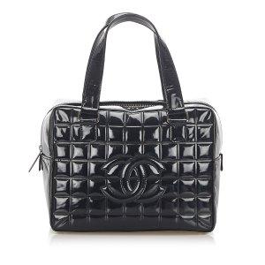 Chanel Handbag black imitation leather