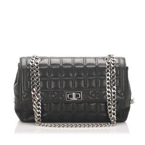 Chanel Choco Bar Reissue Lambskin Leather Shoulder Bag