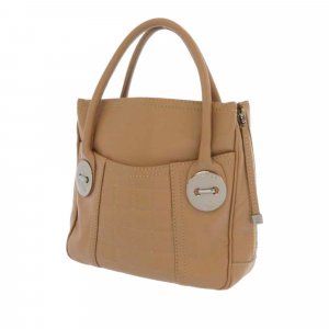 Chanel Choco Bar Soft Leather Tote Bag