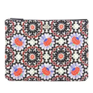 Chanel Christmas Canvas Clutch Bag