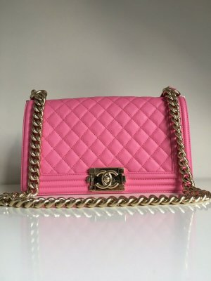 CHANEL Classic Boy PINK