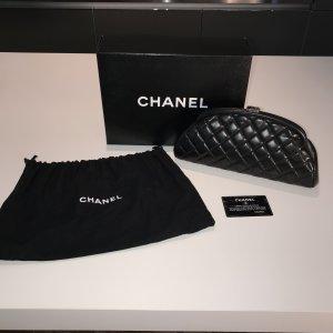 Chanel Classic Clutch Tasche Schwarz OVP Original mit Rechnung