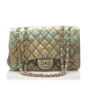 Chanel Classic Jumbo Lambskin Double Flap Bag