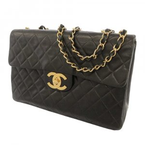 Chanel Classic Maxi Lambskin Single Flap Bag