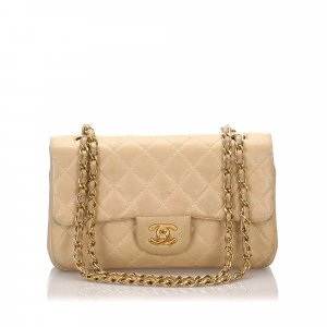 Chanel Classic Small Lambskin Leather Double Flap Bag