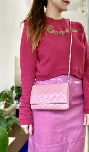 Chanel Borsetta mini rosa-rosa chiaro