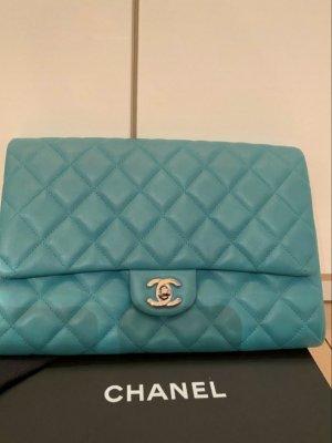 Chanel Clutch turkoois