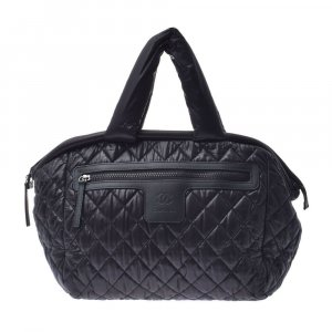 Chanel Handbag black textile fiber