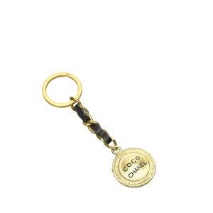 Chanel Breloczek do kluczy złoto Metal