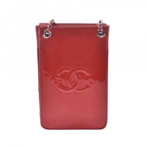 Chanel Handtas rood Leer