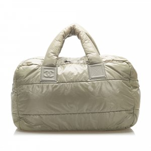 Chanel Handbag khaki nylon