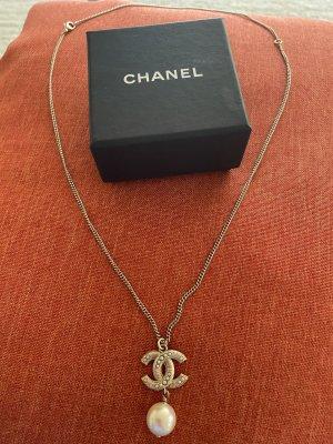 Chanel Colliers ras du cou doré