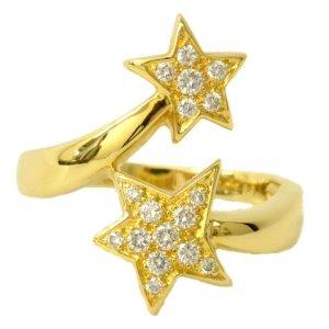 Chanel Comete Star Diamond Ring