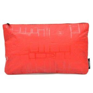 Chanel Borsa clutch rosso